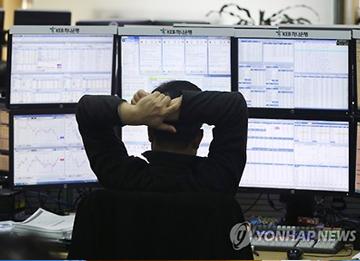 株価下落 店頭市場では売買一時中断措置