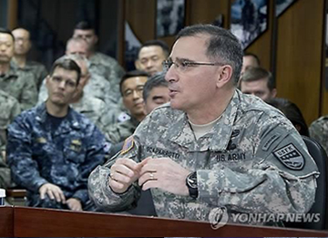 USFK Chief: Conflict with N. Korea Would be Akin to WWII