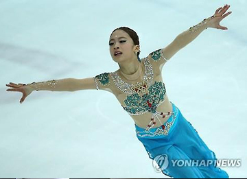 フィギュア女子のホープ ユ・ヨンが最高得点