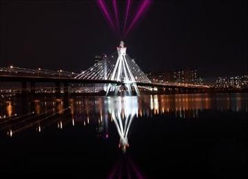 漢江の水上タクシーと遊覧船 年末年始のイベント実施