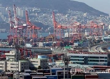 В первом полугодии грузооборот южнокорейских портов сократился на 1%