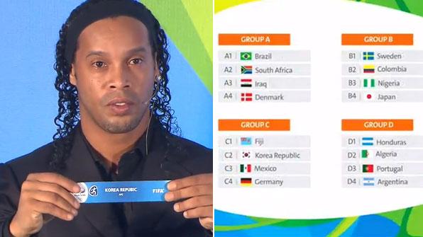 Tim Sepak Bola Korea Selatan Berada di Grup C Olimpiade Rio