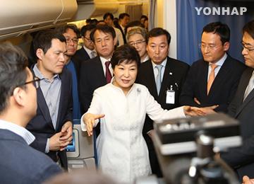 朴槿惠总统:此次访伊应是国家经济再次腾飞的跳板
