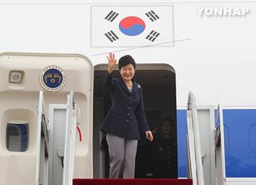 [국제] 박 대통령, 아프리카·프랑스 순방 출국