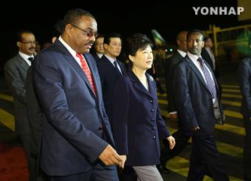 朴槿惠总统:韩国将成为埃塞俄比亚值得信任的伙伴