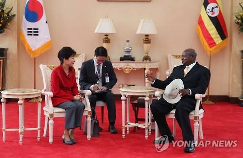 Hàn Quốc và Uganda nhất trí tăng cường quan hệ