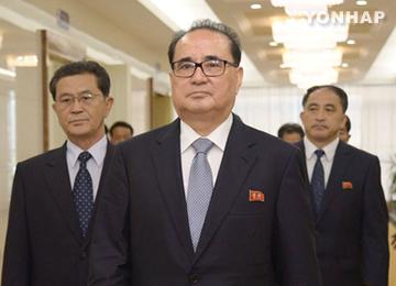 Un alto funcionario norcoreano visita China con un grupo representativo