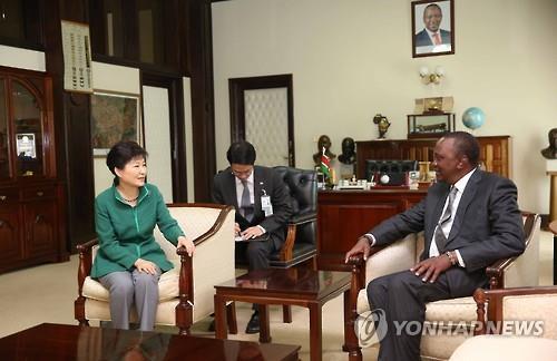 S. Korea, Kenya Agree on Economic Cooperation