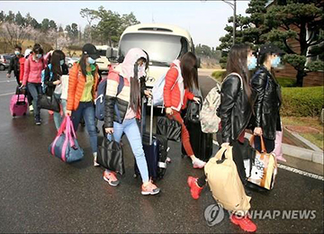 12 N. Korean Restaurant Worker Defectors Enter College in S. Korea