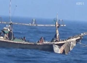 العثور على قارب صيد كوري شمالي في المياه الكورية الجنوبية