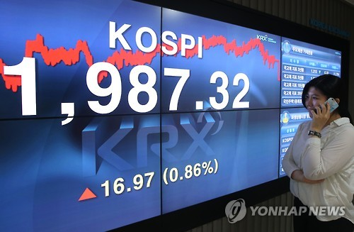 S. Korean Stocks Regain Pre-Brexit Level