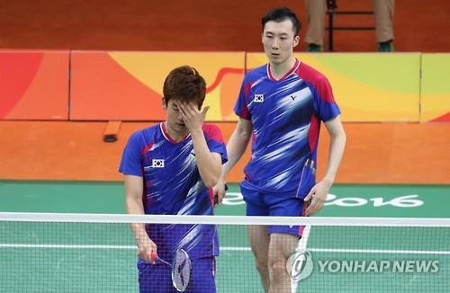 郑京恩和申承灿晋级奥运羽毛球女双半决赛 李龙大和柳延星被淘汰