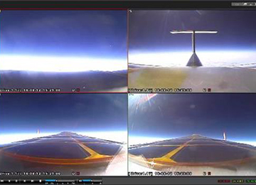 Dron surcoreano de energía solar logra volar en la estratosfera