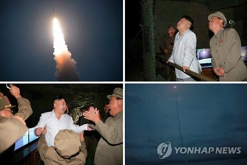 N. Korea Reveals Footage of SLBM Launch