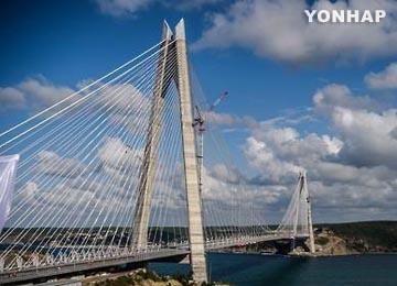 世界最長の吊り橋 韓国企業が建設