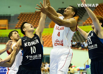 バスケ男子の東アジア選手権 韓国、決勝進出