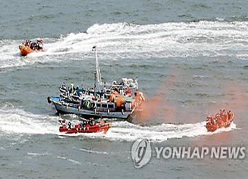 韓国海洋警察 急増する中国違法操業受け「取締り強化する」