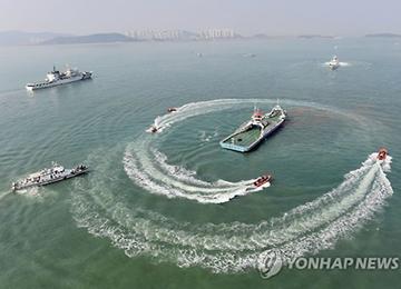 '북한 도발 대비' 여객선 납치 가정 대테러훈련