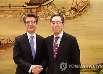 六方会谈韩中团长会晤 商讨无核化方案