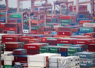 S. Korea's Exports to China Fall for 14th Straight Month