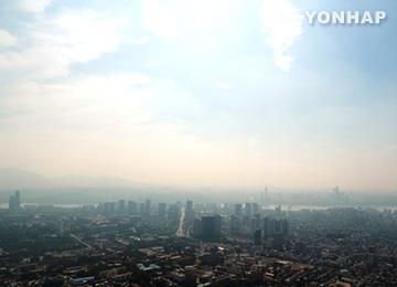 Les nuages se dissipent au-dessus de la Corée du Sud
