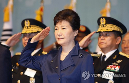 Staatspräsidentin Park kritisiert Nordkoreas Schreckensherrschaft