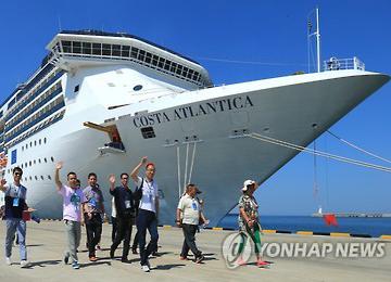 На острове Чечжудо растёт поток туристов