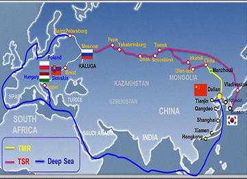 삼성전자, 시베리아 횡단철도 통해 물류운송 혁신