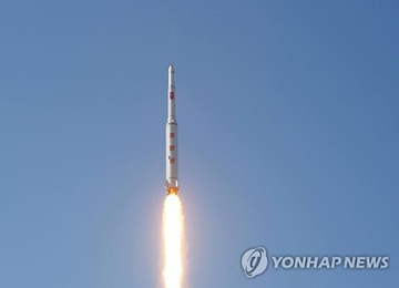 """북한 """"'합법적 우주활동' 걸고드는 것은 언어도단"""" 비난"""