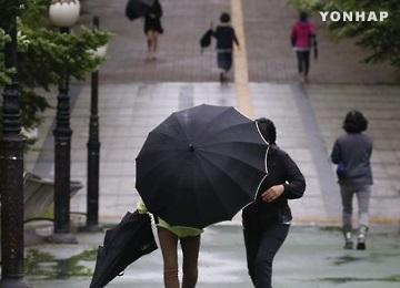 Météo : la pluie domine le pays, Séoul épargné