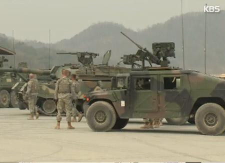 EEUU mantiene en Corea unos 28.500 efectivos