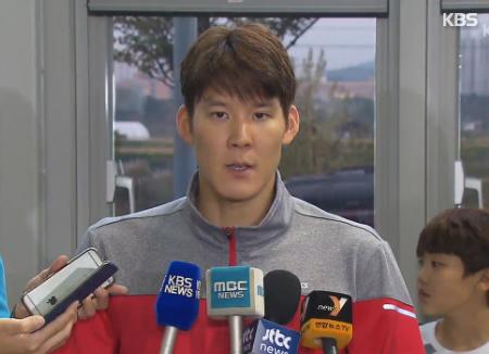 Perenang Park Tae-hwan Memenangkan Nomor 400 Gaya Bebas Kejuaraan Asia