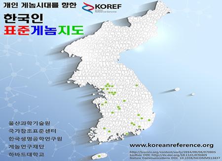 Para Peneliti Memetakan Rangkaian Genom Orang Korea Selatan