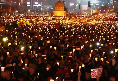 RFA: N. Korea's Media Coverage of Rallies in S. Korea May Backfire