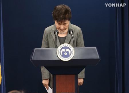 Präsidentin Park überlässt Parlament Entscheidung über ihre Zukunft im Amt