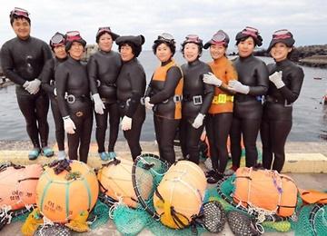 Культура ныряльщиц хэнё занесена в список ЮНЕСКО
