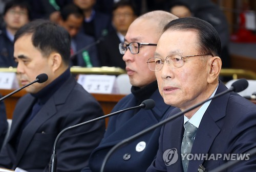 Lawmakers Grill Ex-Chief of Staff over Choi Soon-sil Scandal