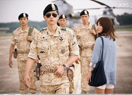S. Koreans Most Immersed in 'Descendants of the Sun' This Year