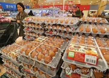 鳥インフルの拡散により卵価格上昇