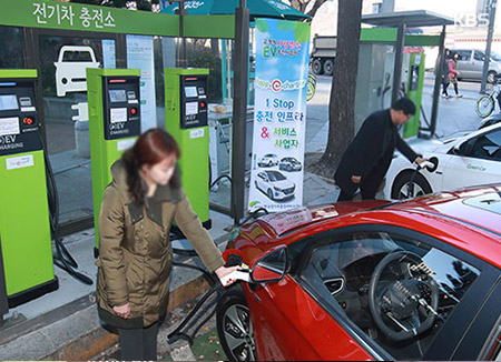 No. of Electric Cars Registered in S. Korea Tops 10,000