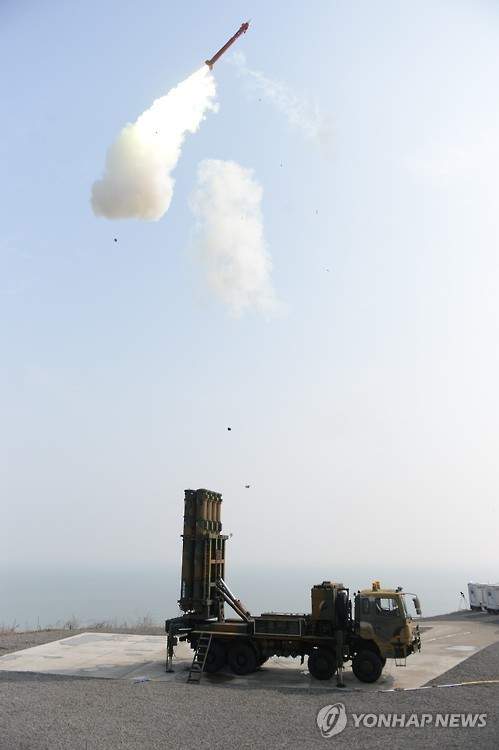 S. Korea to Begin Mass Production of M-SAM Missiles Next Year