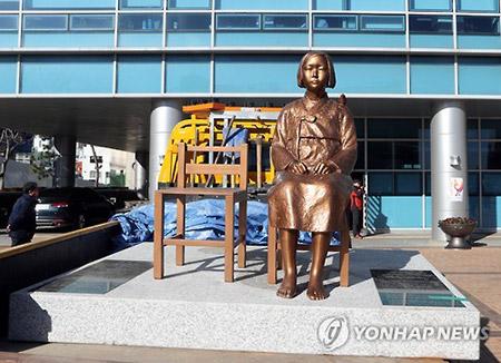 森本釜山総領事 釜山東区庁長と面会