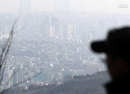 中国からスモッグ PM10濃度「非常に悪い」状態に