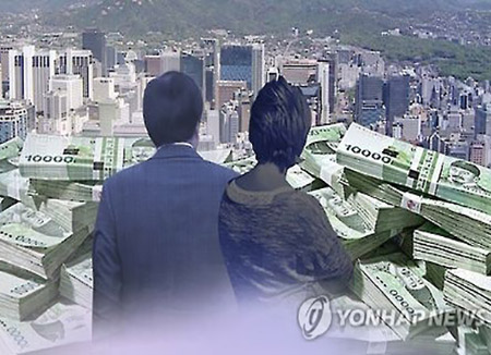 Nearly 63% of S. Korea's Stock Rich Inherited Their Wealth
