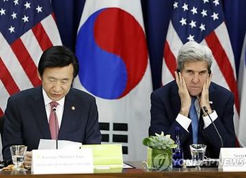 韓米外相が電話会談、韓日関係に触れる