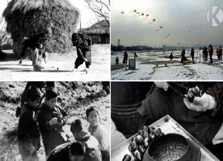 В РК представлены фото- и видеоматериалы зимнего пейзажа прежних лет