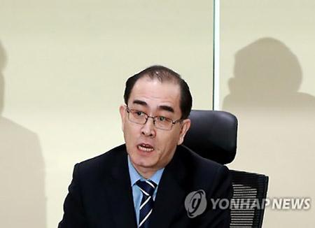 太永浩:很多精英分子想逃出北韩 有人在欧洲等候来韩