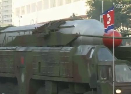 北韩疑在平壤北部部署新型洲际弹道导弹
