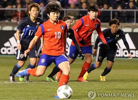 Qualification des « guerrières de Taegeuk » pour la Coupe d'Asie féminine de football