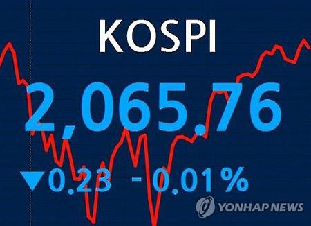 Le Kospi termine en petite baisse